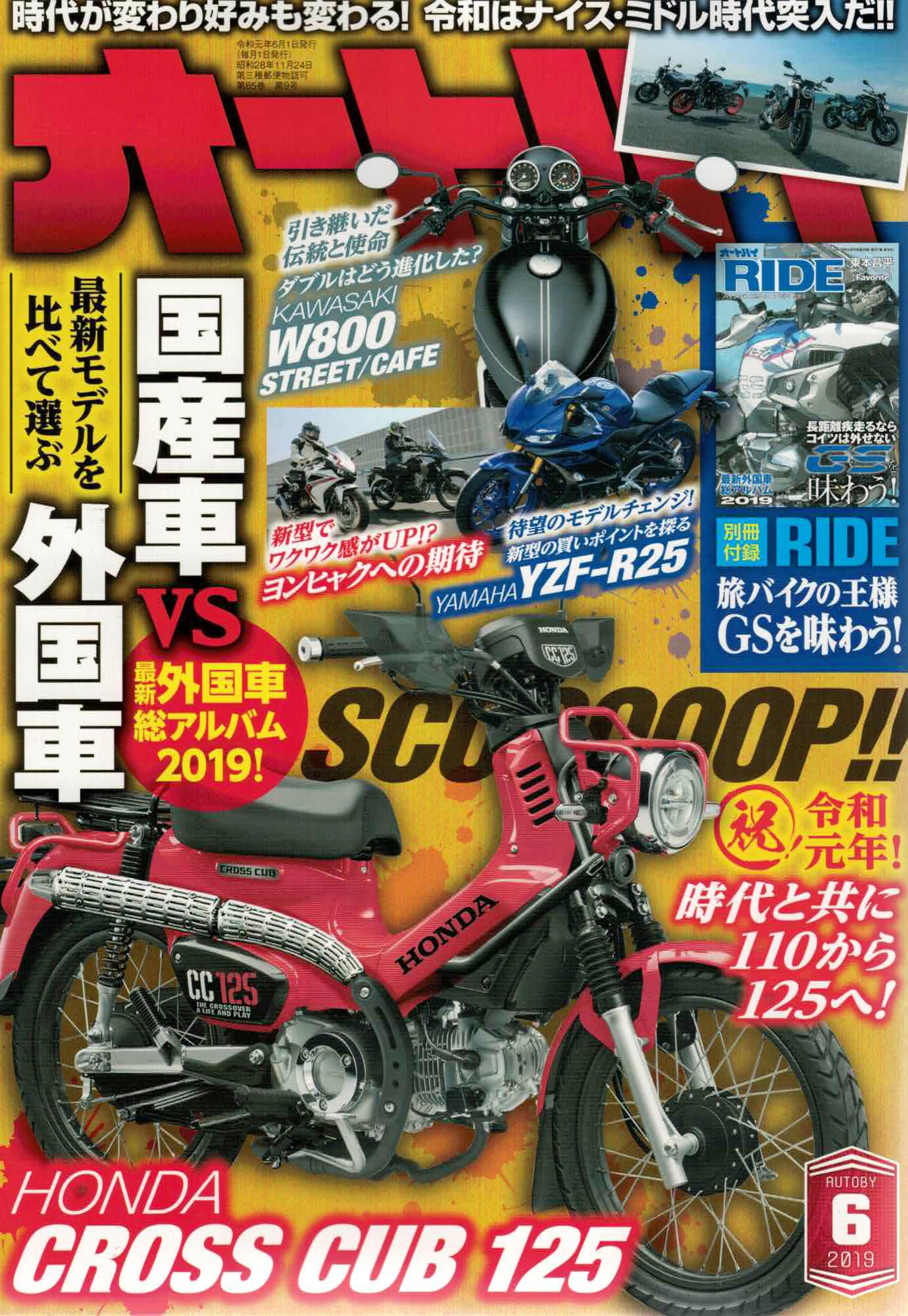 【オートバイ6月号掲載】Lambretta、FANTIC CABALLERO SCRAMBLER250