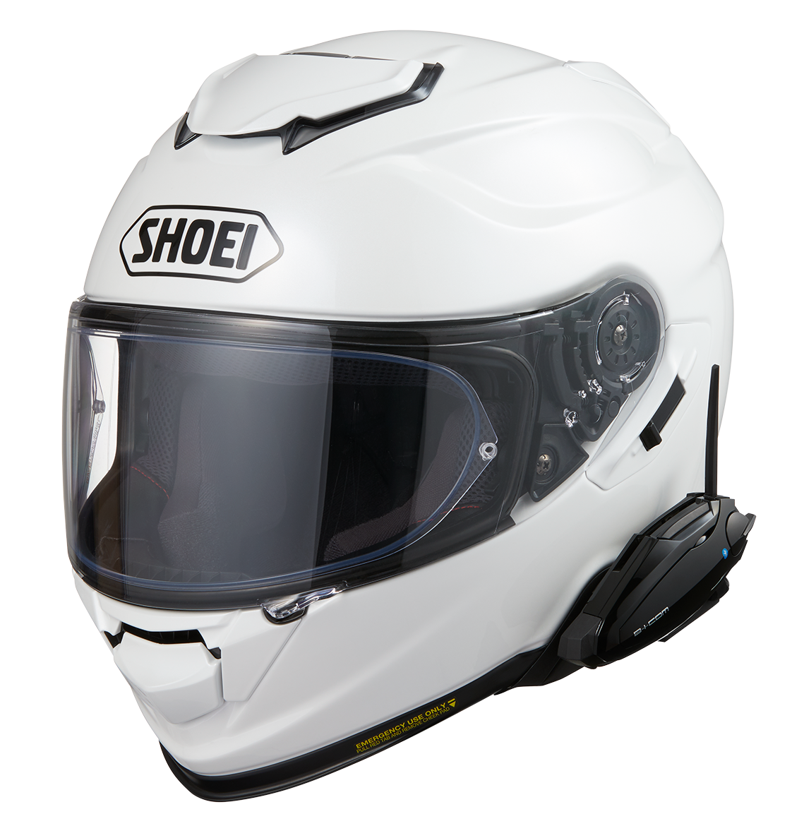【8/7発売開始】B+COM ヘルメットアタッチメント SHOEI用登場