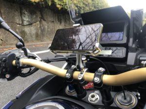バイクスマホホルダーCRF1100L アフリカツイン