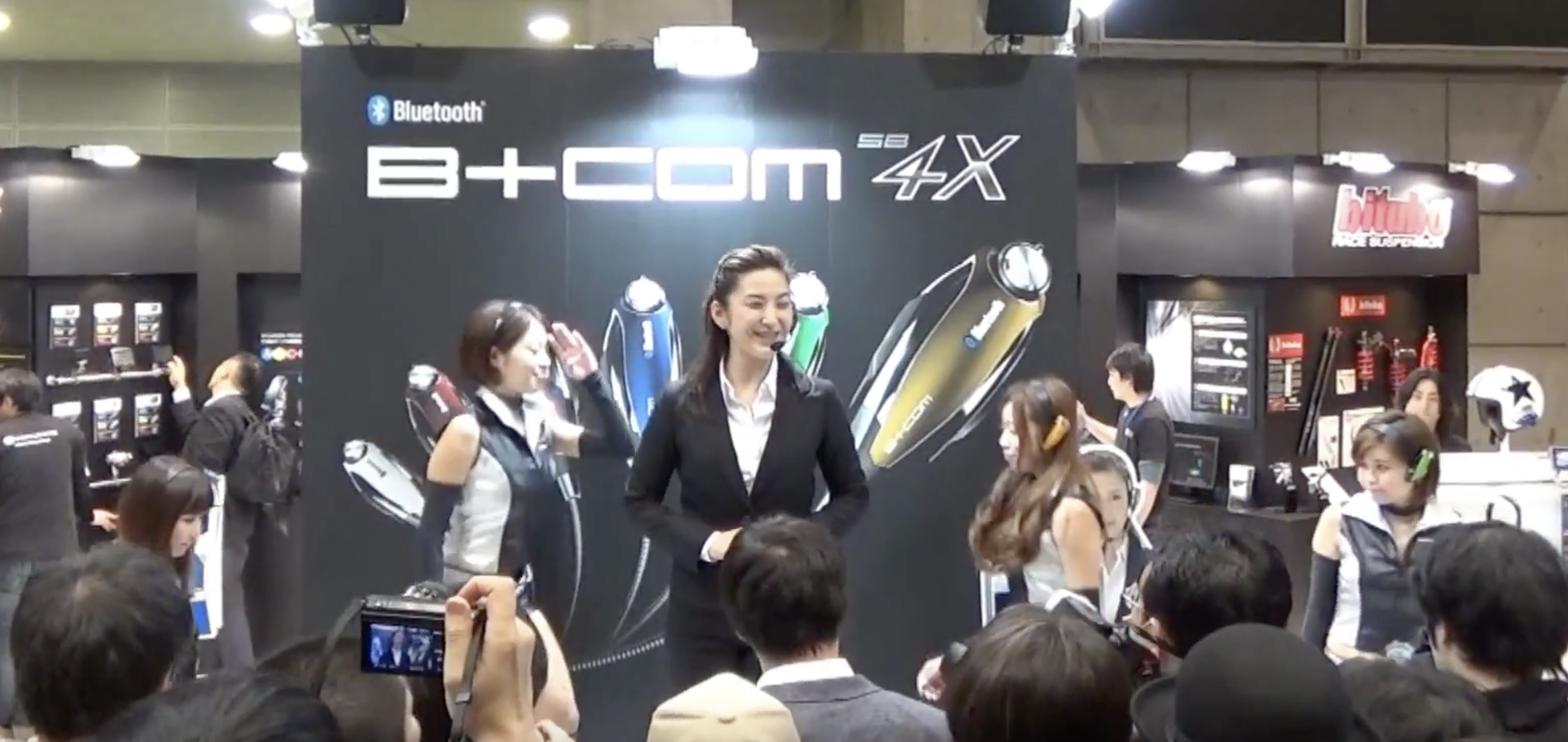 【東京モーターサイクルショー2014】ショーイベント動画アップしました