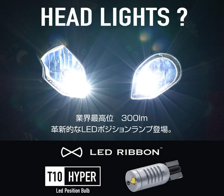 【新商品】ヘッドライトの不点灯時でも安心の光量を確保!業界最高位300lm!革新的なLEDポジションランプ登場。