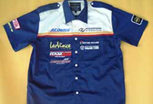 TEAM サインハウス・ パイロットシャツの販売開始