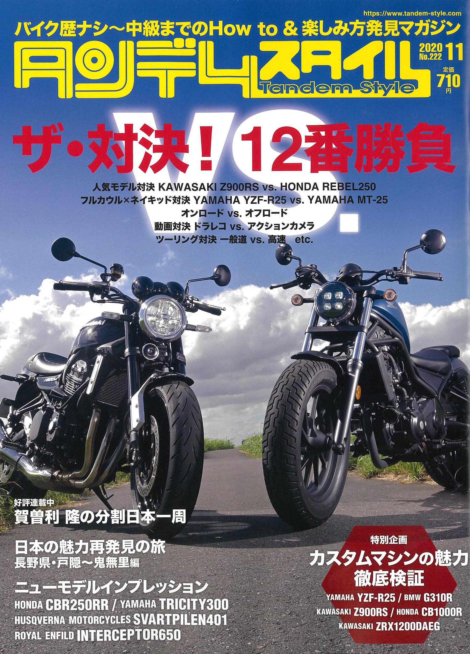 【タンデムスタイル11月号掲載】FANTIC CABALLERO SCRAMBLER500/RALLY500、Lambretta V200Special