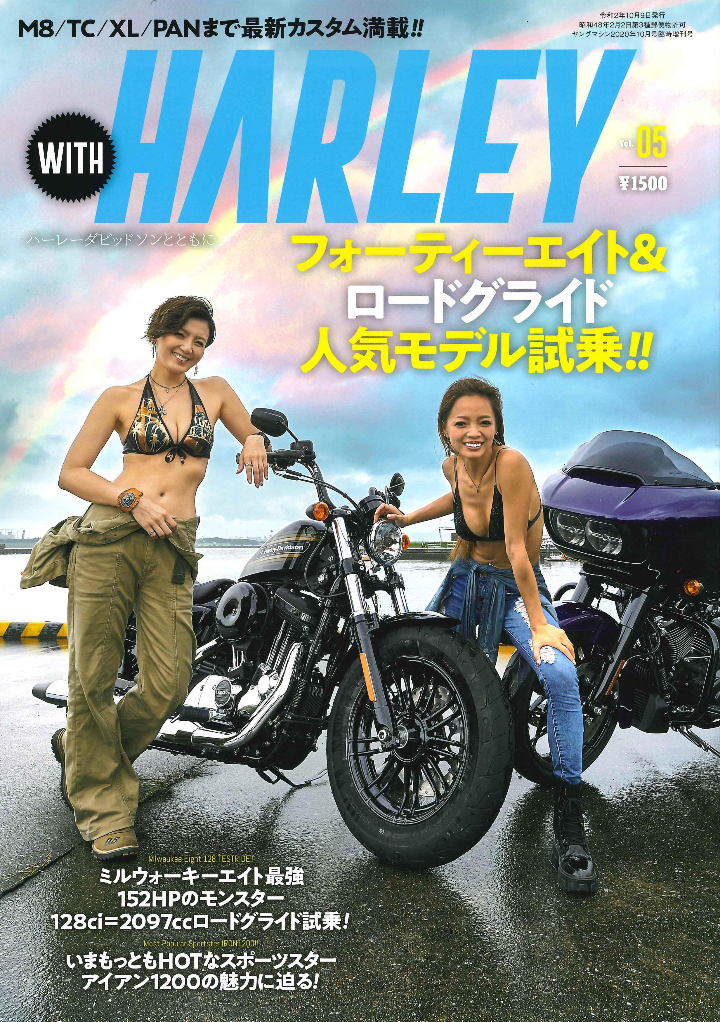 【with HARLEY vol.5掲載】『ヘルメットアタッチメントSHOEI用』『B+COM最新アップデート』